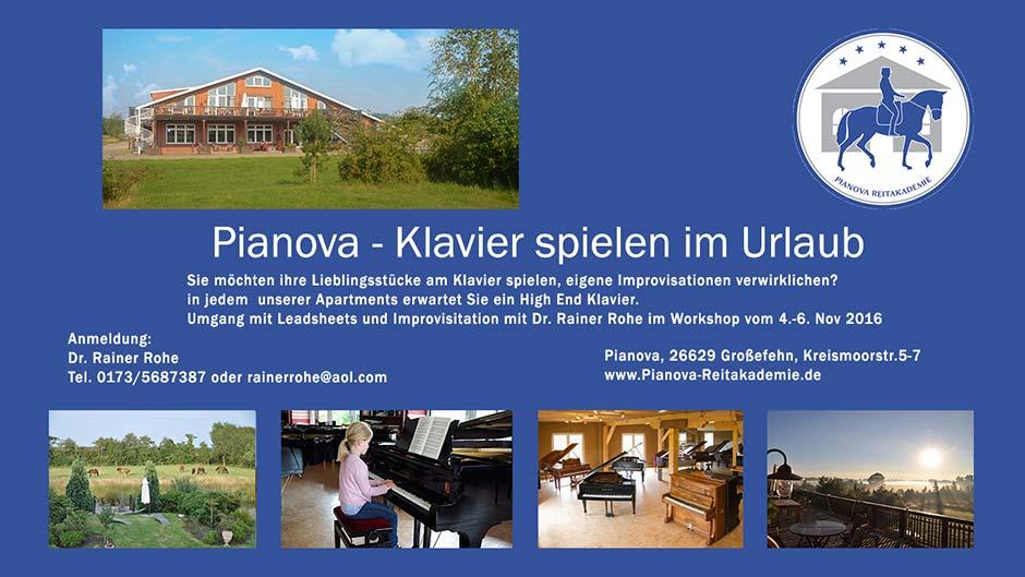 Pianova - Klavier spielen im Urlaub