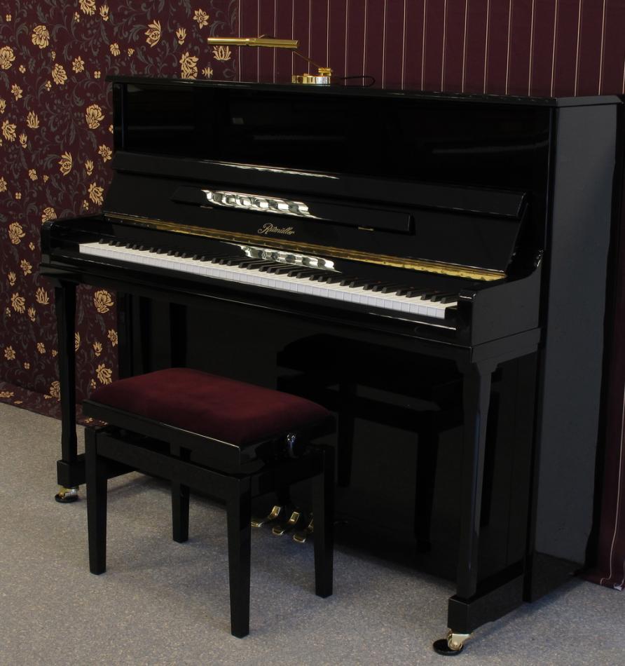 klavier ritm ller eu122 kaufen ritm ller klavier professional eu 122 schwarz neu. Black Bedroom Furniture Sets. Home Design Ideas