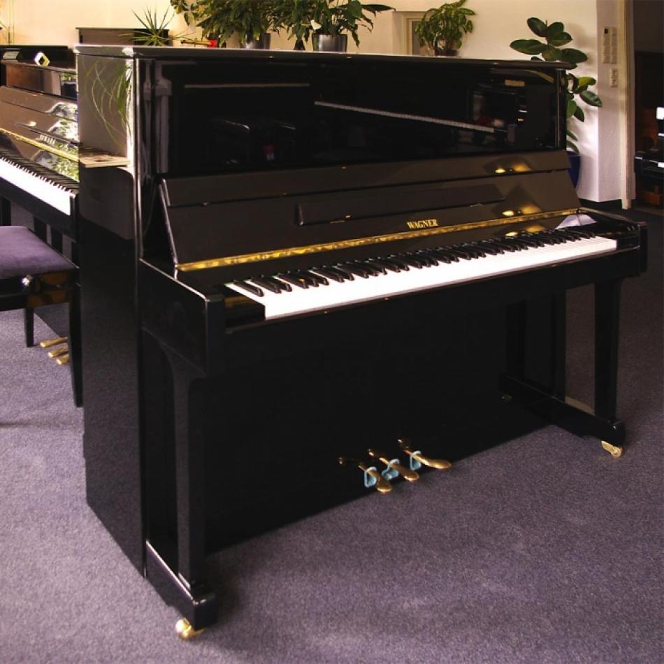 klavier wagner kaufen das schlichte schwarze in gutem. Black Bedroom Furniture Sets. Home Design Ideas