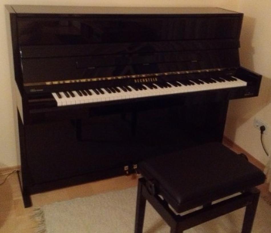 klavier bechstein kaufen fast neues ungespieltes c. Black Bedroom Furniture Sets. Home Design Ideas