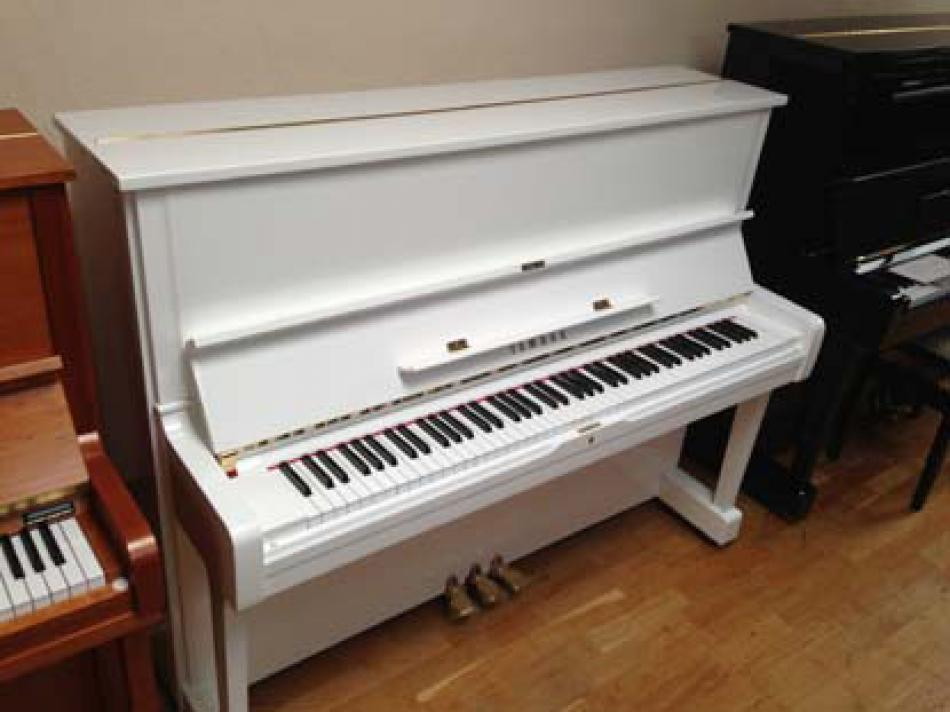 klavier yamaha u1 kaufen gebrauchtes yamaha u1 weiss. Black Bedroom Furniture Sets. Home Design Ideas