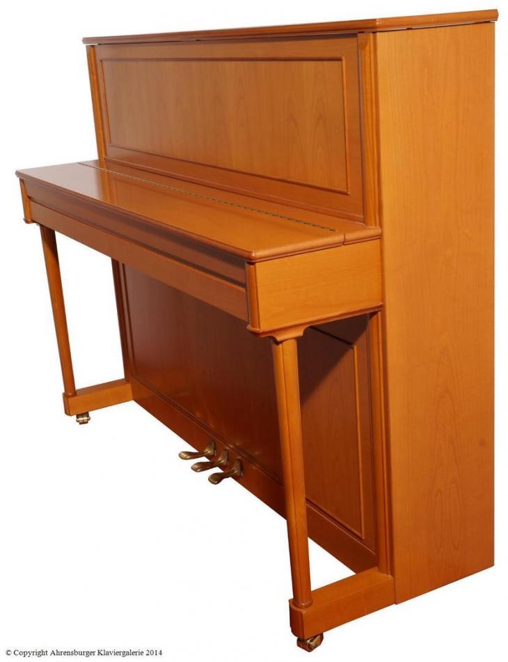 klavier schimmel kaufen schimmel sondermodell 118 konsolenklavier kirschholz pianova. Black Bedroom Furniture Sets. Home Design Ideas