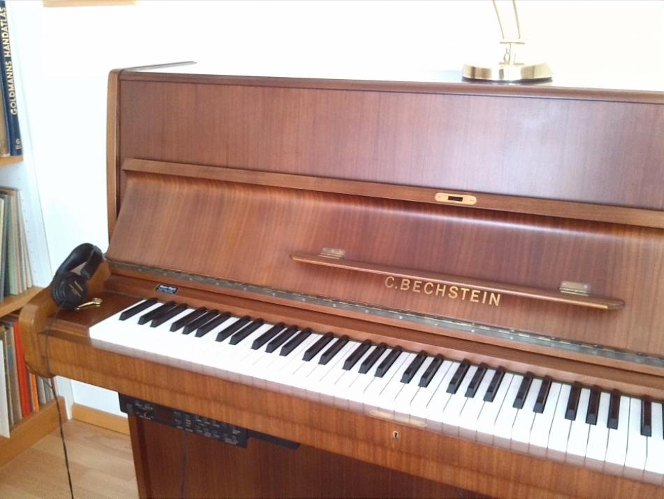 klavier bechstein kaufen bechstein klavier 12n bj. Black Bedroom Furniture Sets. Home Design Ideas