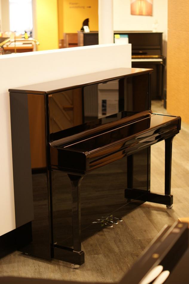 klavier bechstein contur118 kaufen c bechstein contur 118 chrom pianova. Black Bedroom Furniture Sets. Home Design Ideas
