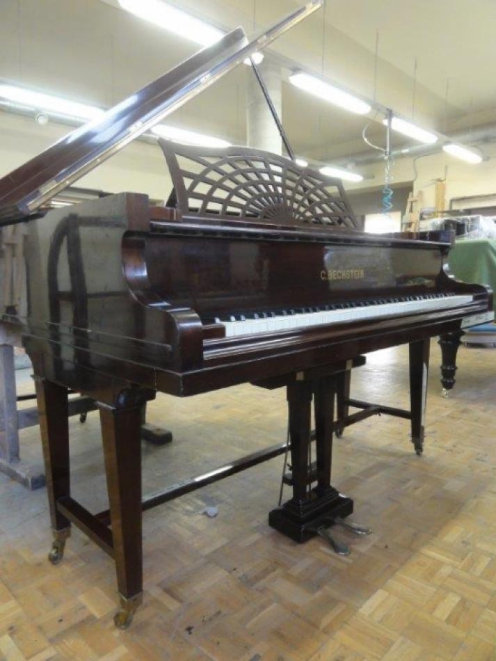 fl gel bechstein b kaufen komplett restauriert und sehr authentisch stimmstock neu pianova. Black Bedroom Furniture Sets. Home Design Ideas
